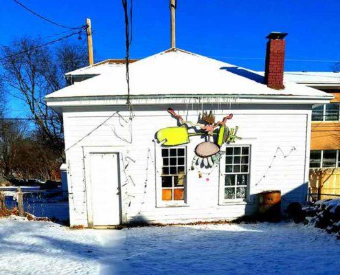 Wendy Bantam Studio Renovation