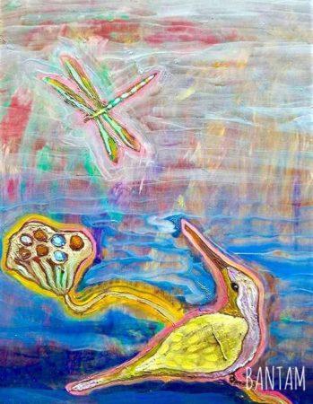 The Hummingbird's Blue Lake