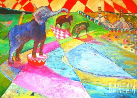 Elephant Circus by Wendy Bantam