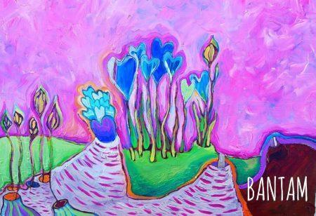 The Heart Garden original oil by Wendy Jane Bantam