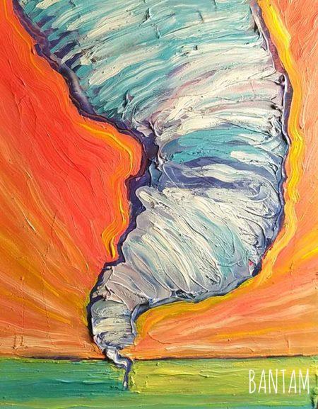 The Summer Tornado by Wendy Jane Bantam